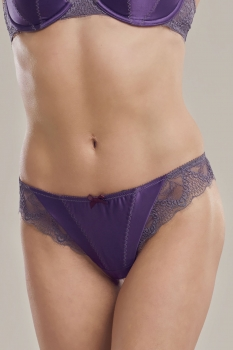 Thong Mulberry/Slate