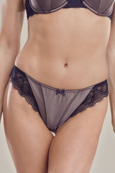 Falling in Love Chestnut Thong