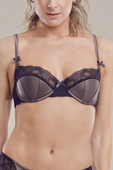 Balcony Bra Chestnut/Black