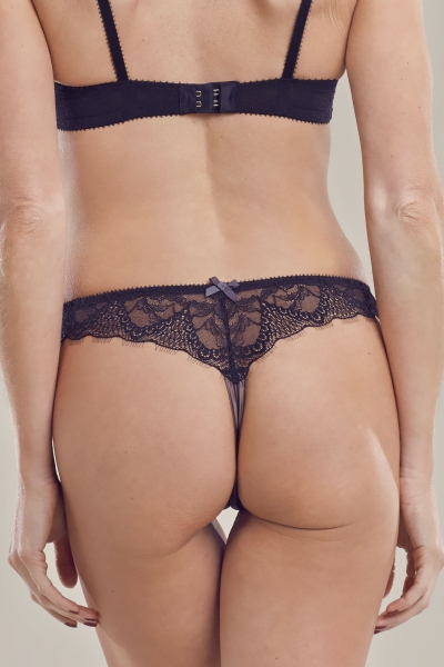 Falling in Love Chestnut Thong back
